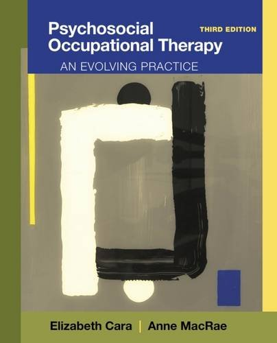 Psychosocial Occupational Therapy 3rd Edition PDF