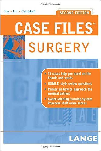 Case Files Surgery 2nd Edition PDF