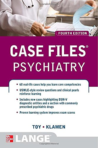 Case Files Psychiatry Fourth Edition PDF