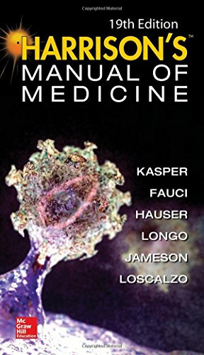 Harrisons Manual of Medicine 19th Edition PDF
