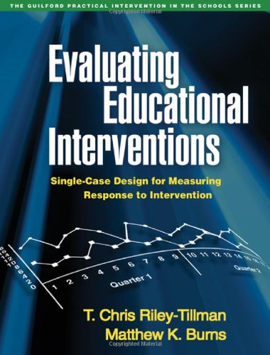Evaluating Educational Interventions PDF