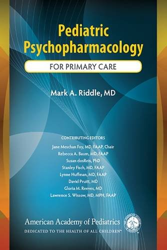 Pediatric Psychopharmacology For Primary Care PDF