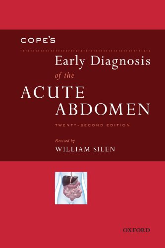 Cope's Early Diagnosis of the Acute Abdomen 22nd Edition PDF