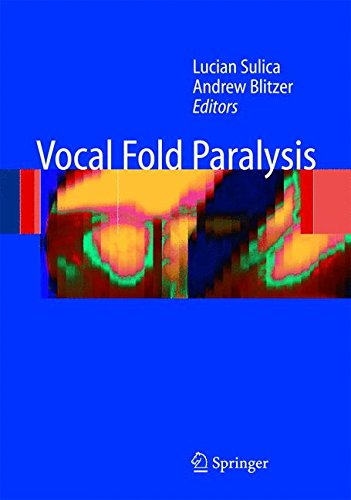 Vocal Fold Paralysis 1st Edition PDF