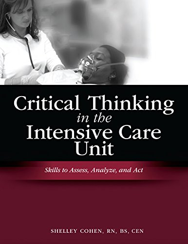 Critical Thinking in the Intensive Care Unit PDF