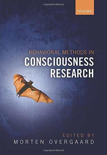 Behavioural Methods in Consciousness Research PDF