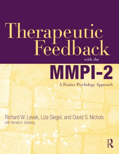 Therapeutic Feedback with the MMPI-2 PDF