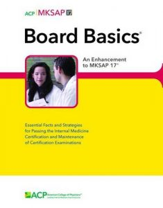 Board Basics 4 From American College of Physicians