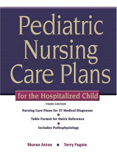 Pediatric Nursing Care Plans for the Hospitalized Child 3rd Edition PDF
