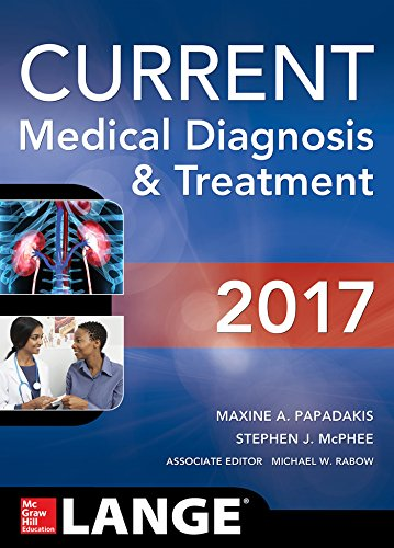 CURRENT Medical Diagnosis and Treatment (CMDT) (Lange) 56th Edition PDF