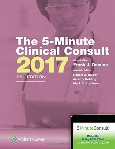 The 5-Minute Clinical Consult 2017 25th Edition PDF