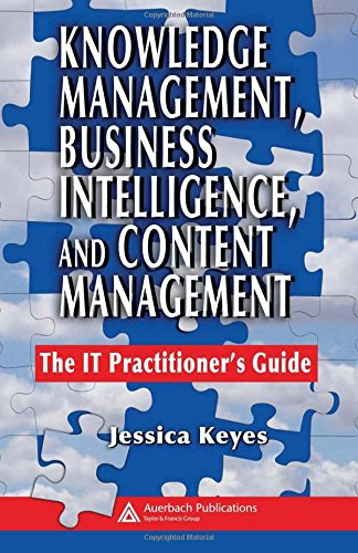 Knowledge Management Business Intelligence and Content Management PDF