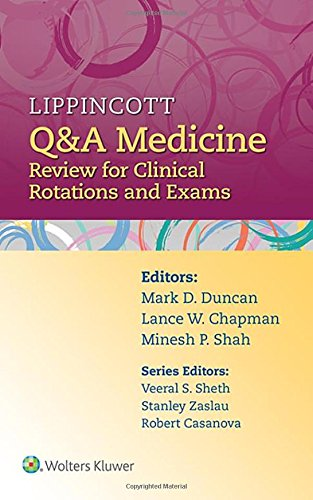 Lippincott Q&A Medicine Review for Clinical Rotations and Exams PDF