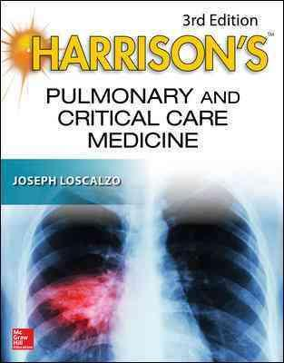 Harrison's Pulmonary and Critical Care Medicine 3rd Edition PDF