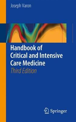 Handbook of Critical and Intensive Care Medicine 3rd Edition PDF
