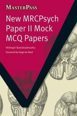 MasterPass New MRCPsych Paper II Mock MCQ Papers PDF