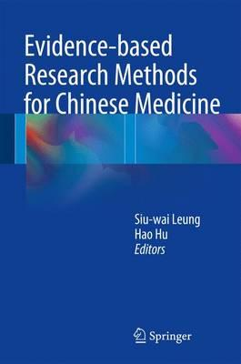 Evidence-Based Research Methods for Chinese Medicine PDF