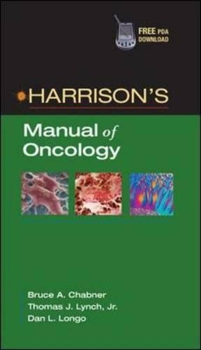 Harrison's Manual of Oncology PDF