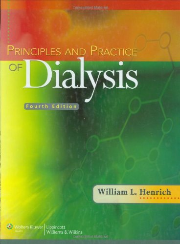 Principles and Practice of Dialysis 4th edition PDF