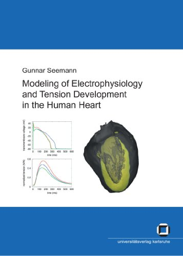 Modeling of electrophysiology and tension development in the human heart PDF