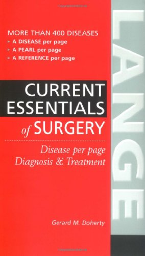 Current Essentials of Surgery PDF
