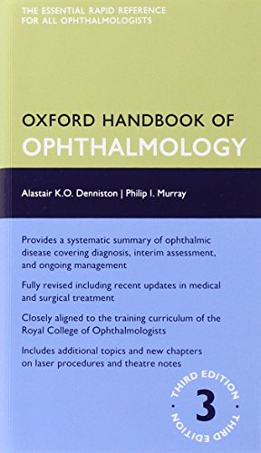 Oxford Handbook of Ophthalmology PDF