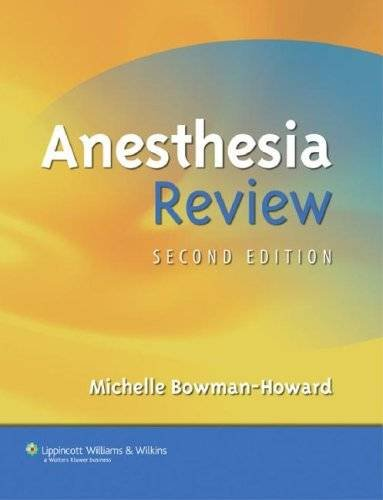 Anesthesia Review 2nd edition PDF