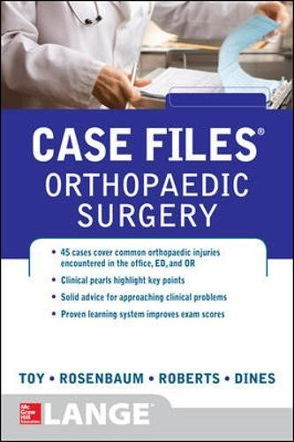 Case Files Orthopaedic Surgery PDF