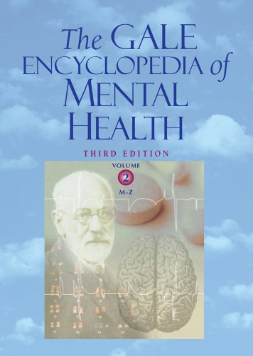 Gale Encyclopedia of Mental Health 3rd Edition PDF