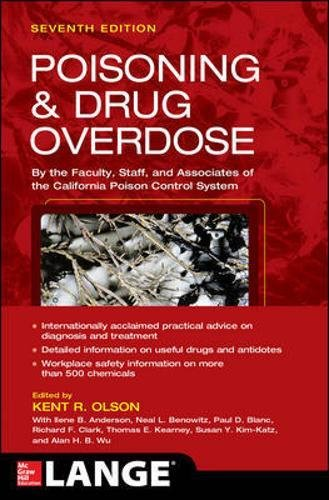 Poisoning and Drug Overdose Seventh Edition PDF