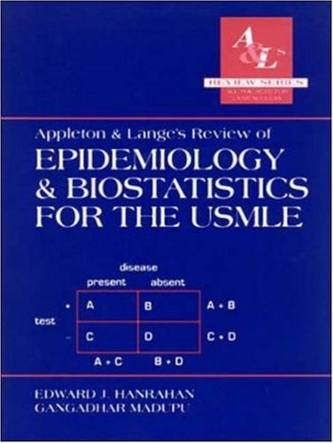 Appleton and Lange's Review of Epidemiology and Biostatistics for the USMLE PDF