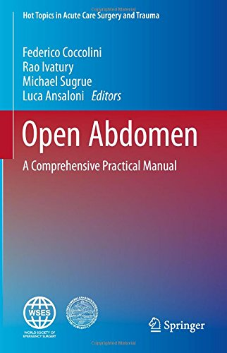 Open Abdomen A Comprehensive Practical Manual PDF