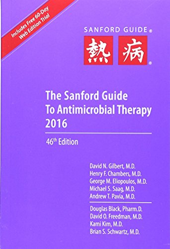 The Sanford Guide to Antimicrobial Therapy 2016 – 46th Edition PDF