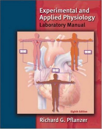 Experimental and Applied Physiology Laboratory Manual 8th Edition PDF