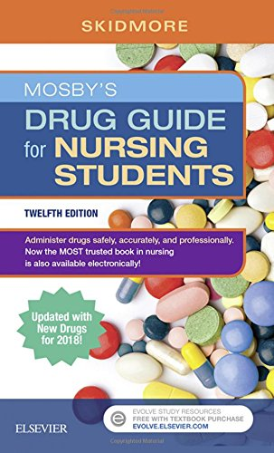 Mosby's Drug Guide for Nursing Students 12th Edition PDF