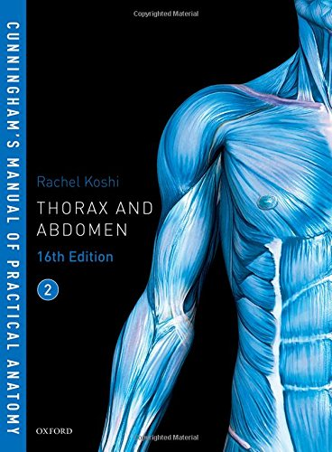 Cunningham's Manual of Practical Anatomy VOL 2 Thorax and Abdomen 16th Edition PDF
