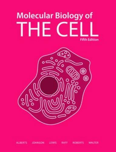 Molecular Biology of the Cell 5th Edition PDF