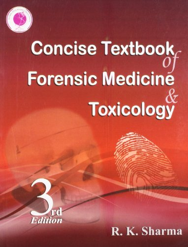 Concise Textbook Forensic Medicine Toxicology 3rd Edition PDF