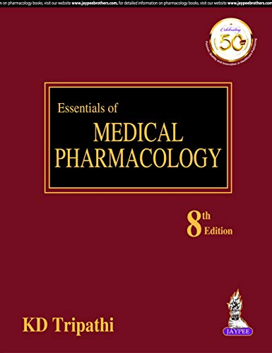 Essentials of Medical Pharmacology 8th Edition PDF