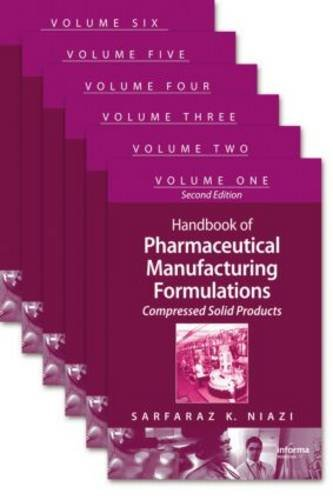 Handbook of Pharmaceutical Manufacturing Formulations 2nd Edition PDF