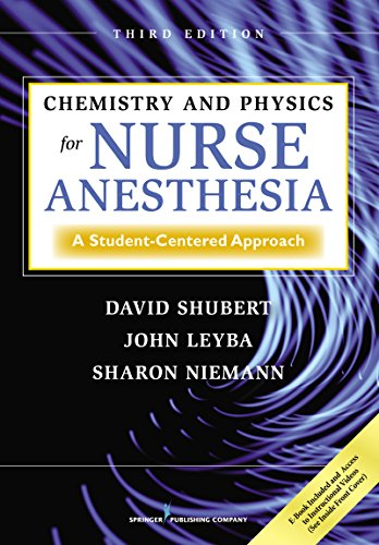 Chemistry and Physics for Nurse Anesthesia 3rd Edition PDF