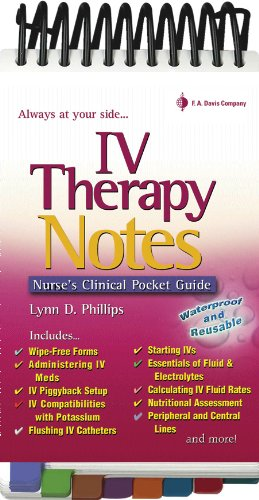IV Therapy Notes PDF