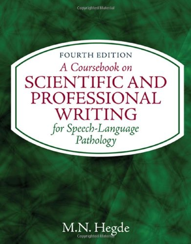 A Coursebook on Scientific and Professional Writing 4th Edition PDF