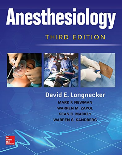 Anesthesiology 3rd Edition PDF