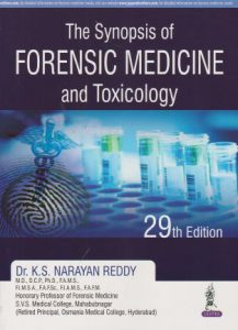 The Synopsis of Forensic Medicine and Toxicology 29th Edition PDF