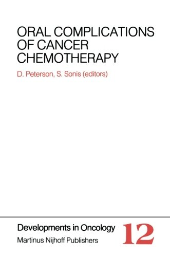 Oral Complications of Cancer Chemotherapy PDF