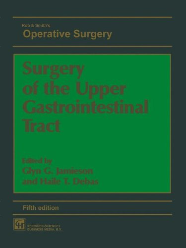 Surgery of the Upper Gastrointestinal Tract 5th Edition PDF