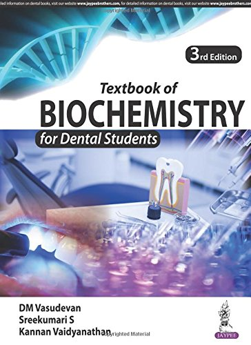 Textbook of Biochemistry for Dental Students 3rd Edition PDF