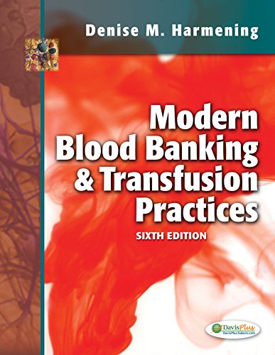 Modern Blood Banking & Transfusion Practices 6th Edition PDF