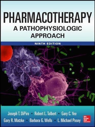 Pharmacotherapy A Pathophysiologic Approach 9th Edition PDF